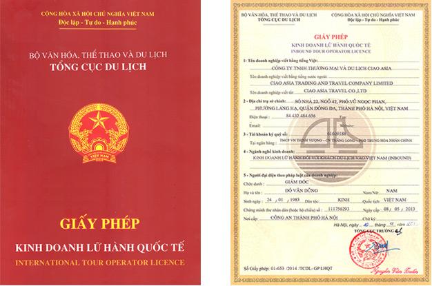 International Tour Operator License
